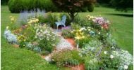 Flower Garden Design for Small Backyards