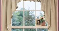 Country Kitchen Curtains Design
