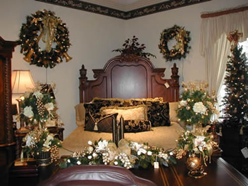 bedroom decorating ideas christmas lights