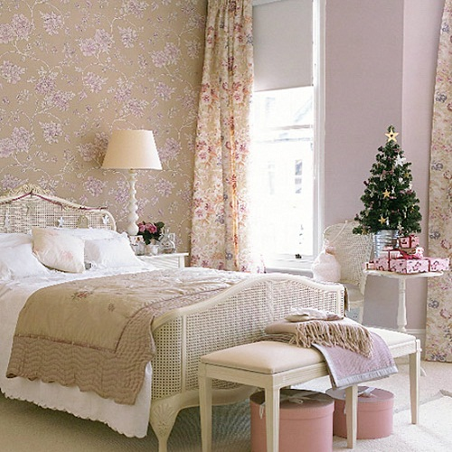 bedroom decorating ideas for christmas