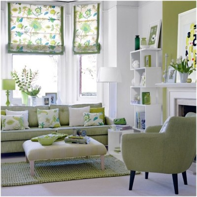 Green Living Room Ideas (24)