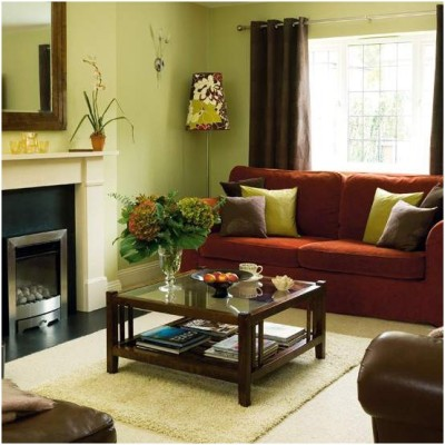 Green Living Room Ideas (23)