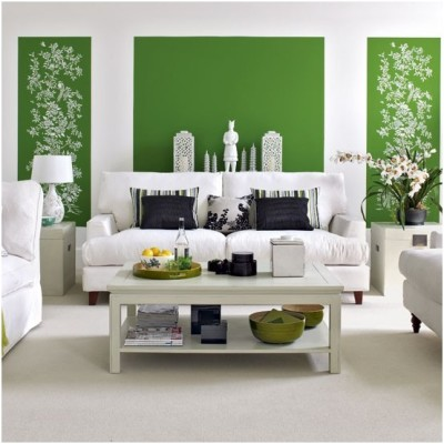 Green Living Room Ideas (22)