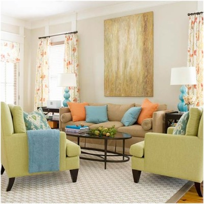 Green Living Room Ideas (21)