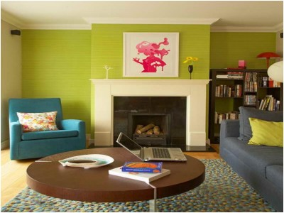 Green Living Room Ideas (19)