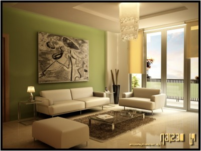 Green Living Room Ideas (17)