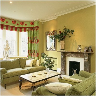 Green Living Room Ideas (16)