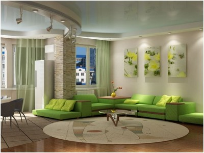 Green Living Room Ideas (14)