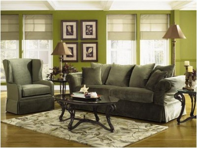 Green Living Room Ideas (13)
