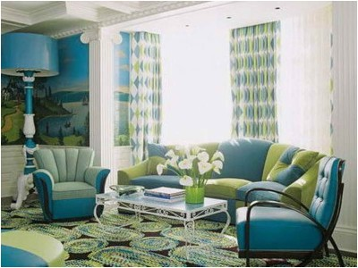 Green Living Room Ideas (10)