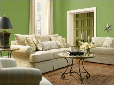 Green Living Room Ideas (5)
