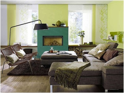Green Living Room Ideas (31)