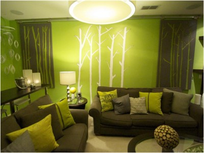 Green Living Room Ideas (30)