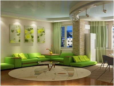 Green Living Room Ideas (29)