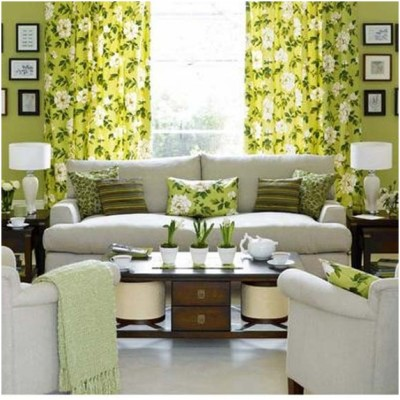 Green Living Room Ideas (28)
