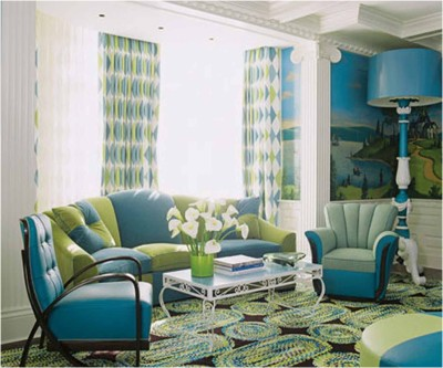 Green Living Room Ideas (26)
