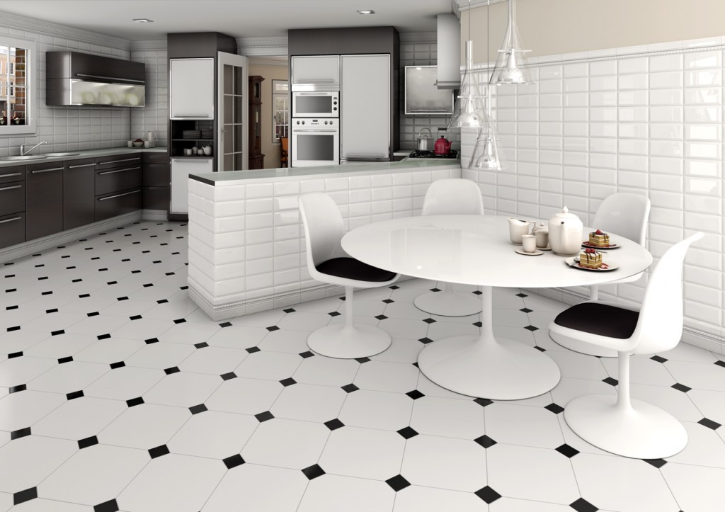 Tiling Kitchen Floor (2)