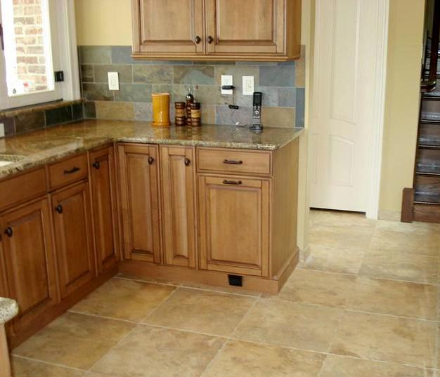 tiling kitchen floor how to