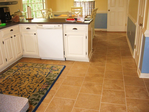 tiling kitchen floor instructions