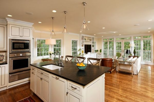 open kitchen and dining room design (8)