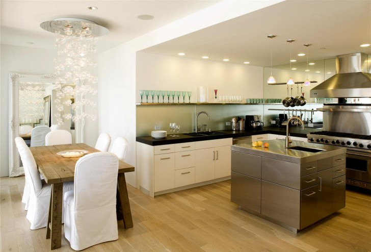 open kitchen and dining room design (17)