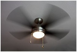 ceiling fan rotation air conditioning