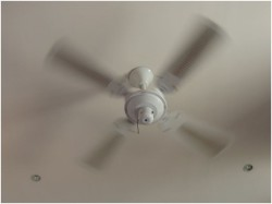 ceiling fan rotation clockwise or anticlockwise