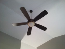 ceiling fan rotation for summertime