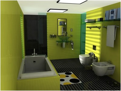 Contemporary Small Bathroom (16)
