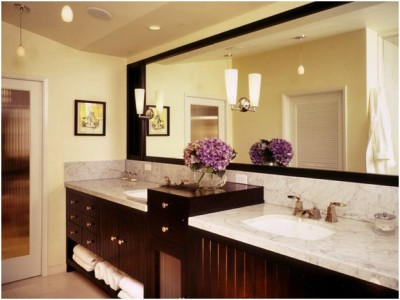 Contemporary Small Bathroom (17)