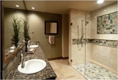Contemporary Small Bathroom (14)