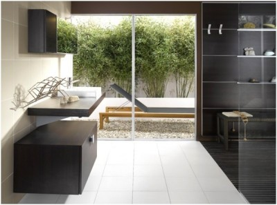 Contemporary Small Bathroom (13)