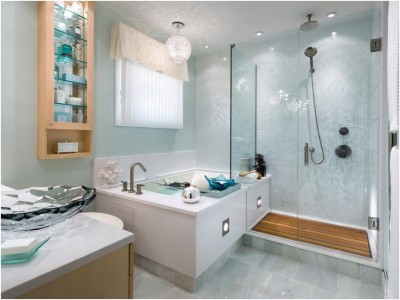 Contemporary Small Bathroom (11)