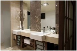 Contemporary Small Bathroom (9)