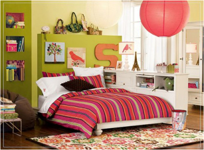 Teenage Girls Bedroom Decorating Ideas (19)