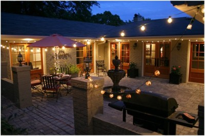 Courtyard Lighting Ideas (5)