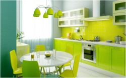 Kitchen Design yellow theme
