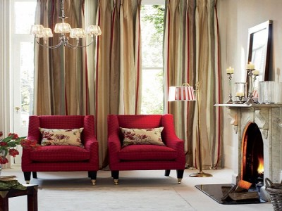 Living Room Curtains Decorations Ideas (19)