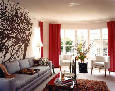 Living Room Curtains Decorations Ideas (12)