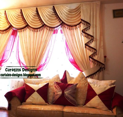 Living Room Curtains Decorations Ideas (8)