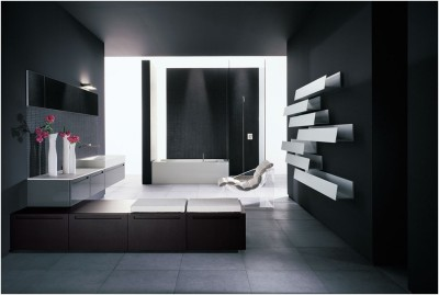 Contemporary Small Bathroom (6)