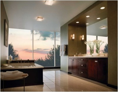 Contemporary Small Bathroom (5)