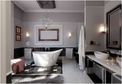 Contemporary Small Bathroom (2)