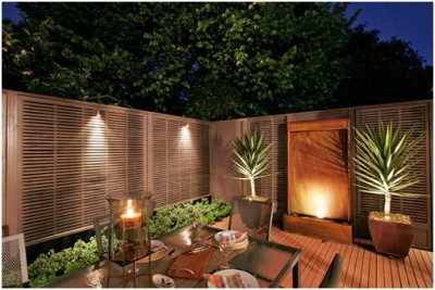 Courtyard Lighting Ideas (9)