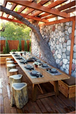 Outdoor Dining Room Sets Decoration (6)