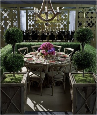 Outdoor Dining Room Sets Decoration (7)