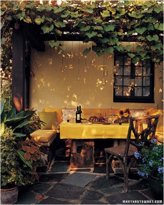 Outdoor Dining Room Sets Decoration (14)