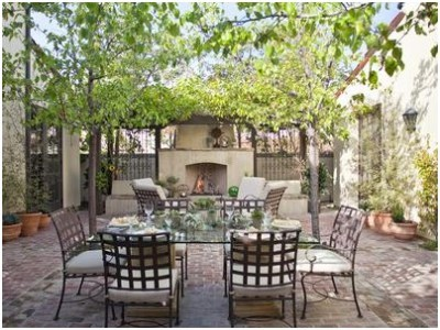 Outdoor Dining Room Sets Decoration (12)