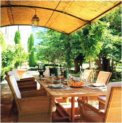 Outdoor Dining Room Sets Decoration (10)