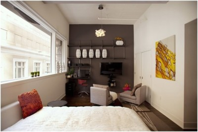 Small Studio Apartment Decoration (20)